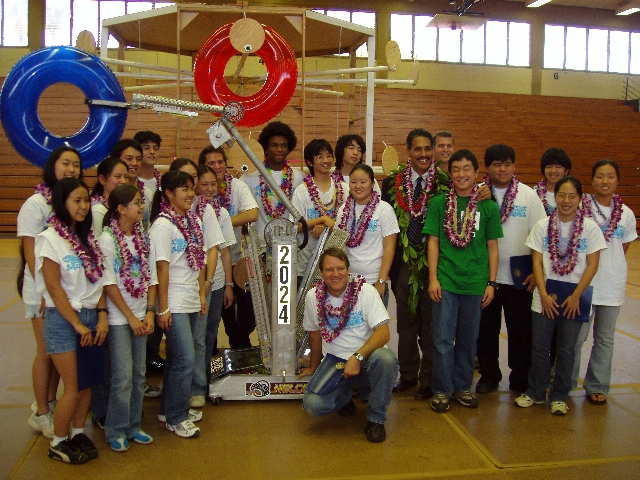 Waiakea High Robotics Team made it to the national FIRST
